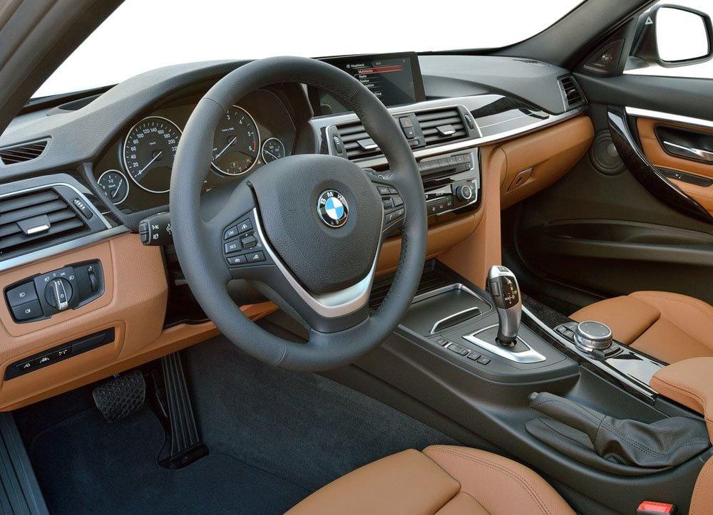 BMW 7-series салон