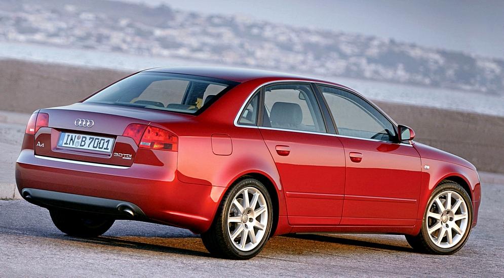Надежность Audi A4. Что случилось с двигателем Audi A4?